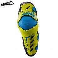 Наколенники Leatt Dual Axis, Зелёно-голубые