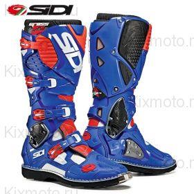 Ботинки Sidi Crossfire 3, Cине-бело-красные