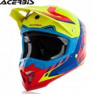 Мотошлем Acerbis Profile 4, Желто-красный