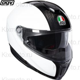 Шлем AGV Sportmodular Carbon, Белый